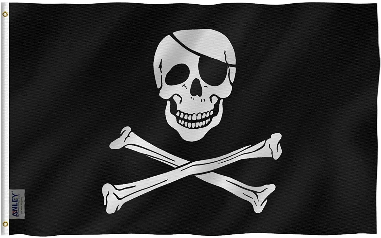 Flags 3X5 Jolly Roger