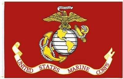 Flags 3X5 Marine Corps