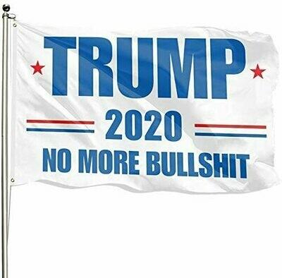 Flags 3X5 TRUMP 2020 No More BS