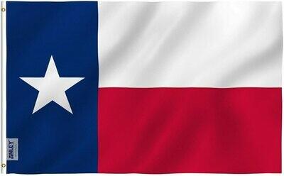 Flags 3X5 Texas