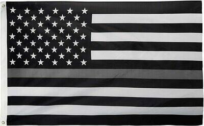 Flags 3X5 Thin Grey Line