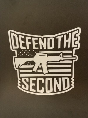 AP Defend the Second Decal