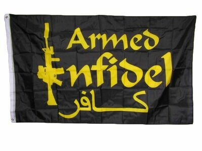 Flags 3X5 Armed Infidel