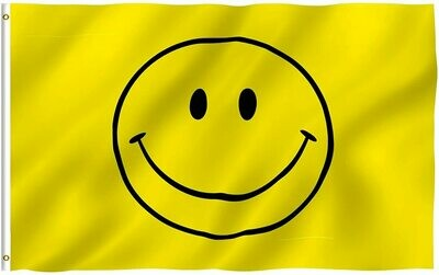 Flags 3x5 Smiley Face