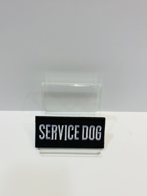 Dog Patches Service Black