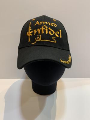 Patriotic Hats Armed Infidel BLK