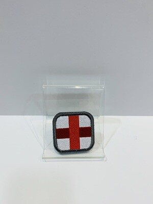 Medic Patches White/Red Cross