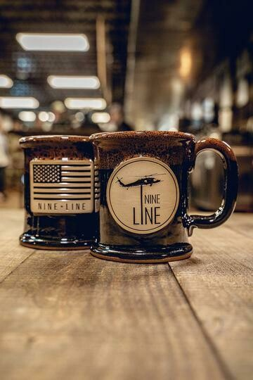 BRCC Nineline Mug Copperhead