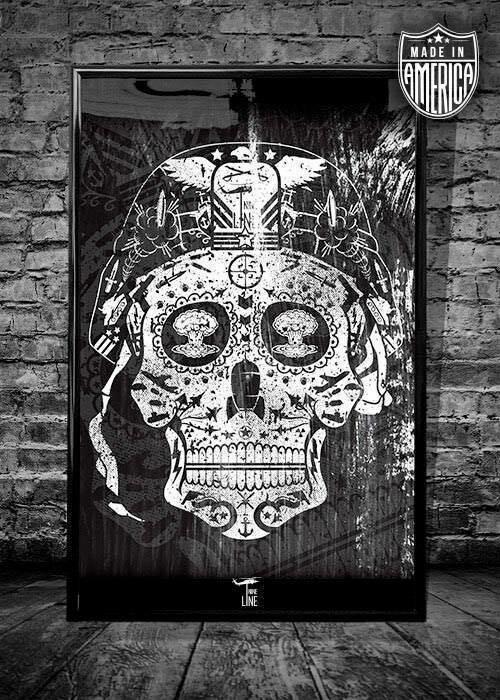 Nineline Posters Sugar Skull