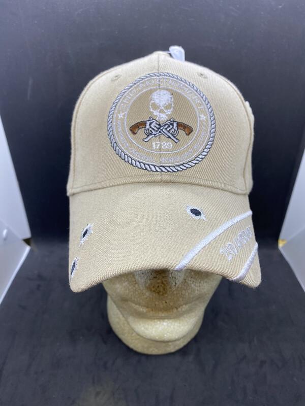 Patriotic Hats 2nd Ammend. Tan