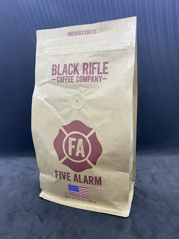 BRCC Coffee Five Alarm