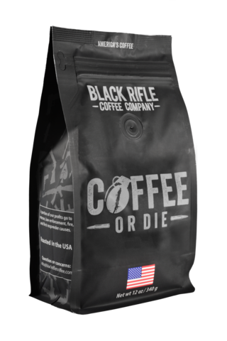 BRCC Coffee or Die Whole Bean 12oz