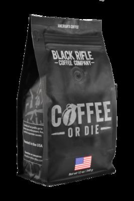 BRCC Coffee or Die Whole Bean 12oz