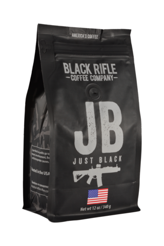 BRCC Just Black Grounds 12oz
