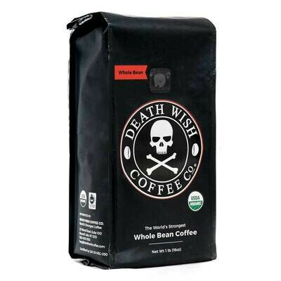 Death Wish  Coffee Whole Bean16oz