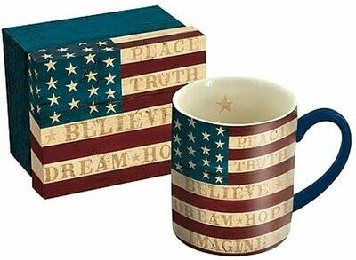 Colonial Flag Mug 14 0z