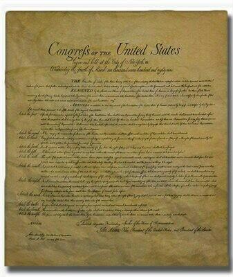 Constitution Replica