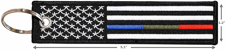 RGB Flag Key Chain