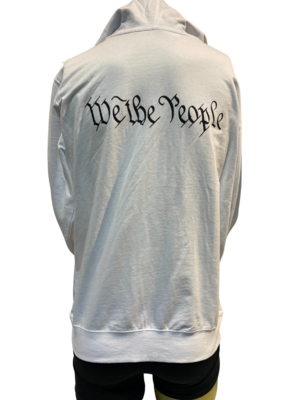 Eagle We The People White Lightweight Hoodie