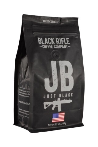 BRCC Just Black whole bean 12oz