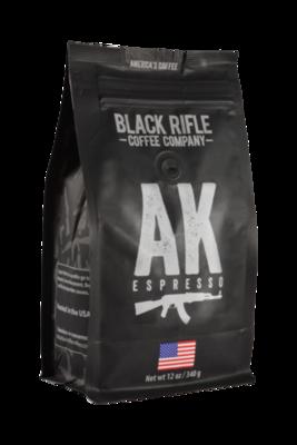 BRCC AK Espresso Grounds 12oz