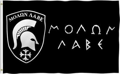 Flags 3X5 Molon Labe