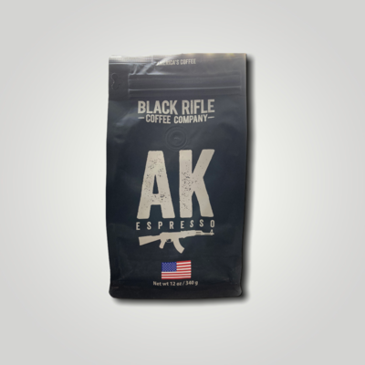 BRCC AK Espresso  Whole Bean 12oz