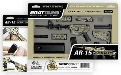 AR-15 Camo Mini Goat Guns