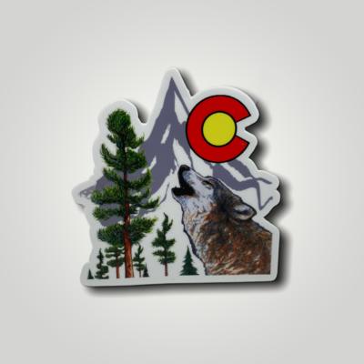 Colorado Decals Wolf