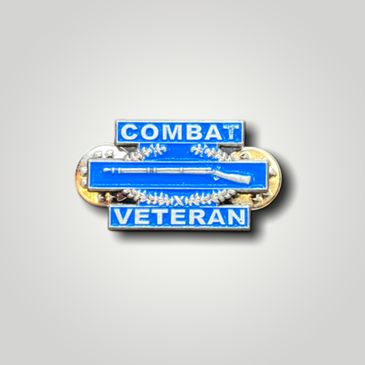 Hat Pins Combat Vet