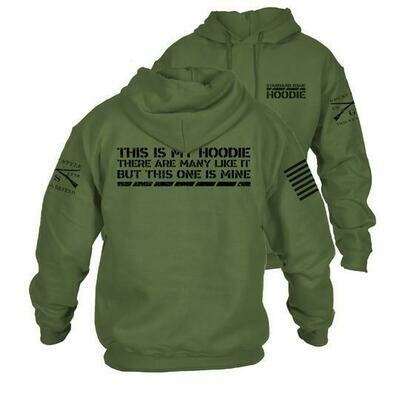 This Is My Hoodie Military Green