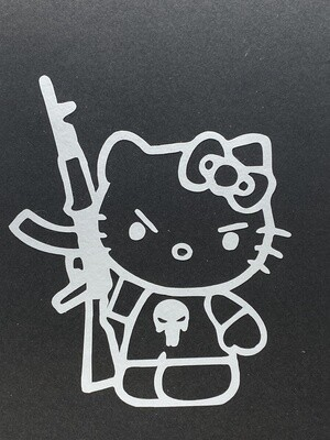 AP Big Kitty Punisher Decal