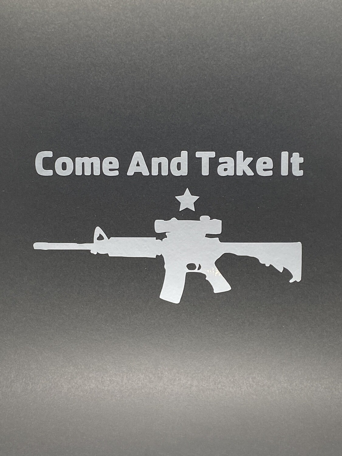 AP Come And Take It Cannon Large Decal