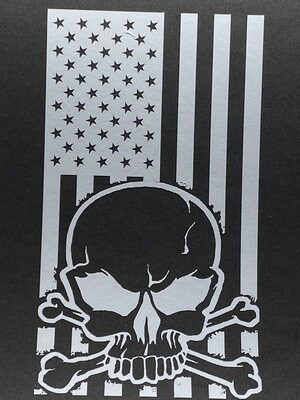 AP Flag Skull