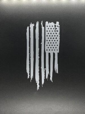 AP Patriot Flag Lg Decal