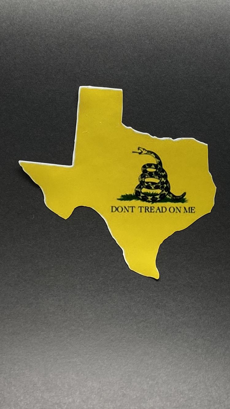 AP Texas Gadsen Sticker