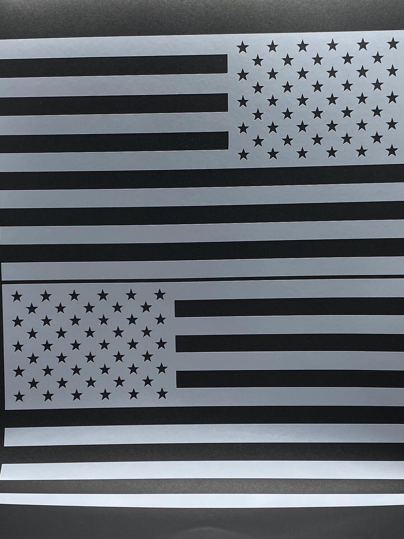AP R/L Flag Decal