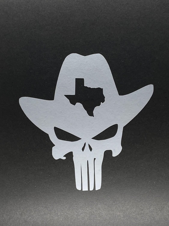 AP Texas Punisher Big Decal