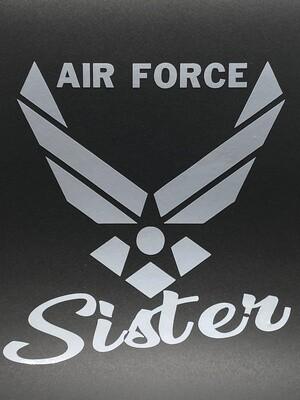 AP Air Force Sister Decal