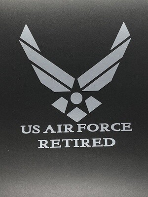 AP US Air Force Retired Decal