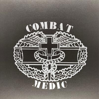 AP Combat Medic Decal lg