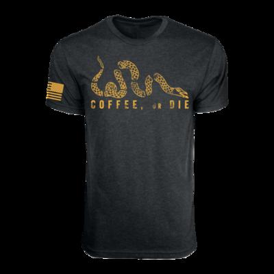 Coffee or Die T-Shirt Black