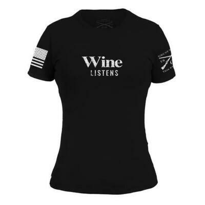 Wine Listens S/S Black