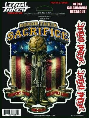 Lethal Threat Decals Honor Their Sacrifice