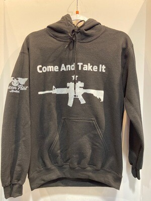 Come and Take It Hoodie Black