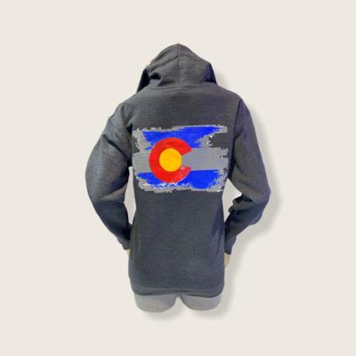 Colorado Hoodie Zip Up