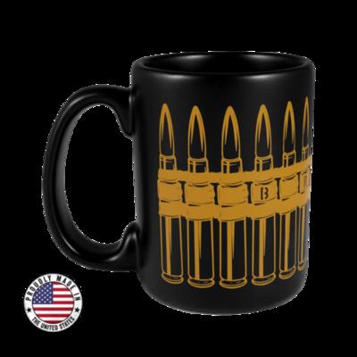 BRCC Belted Black Mug