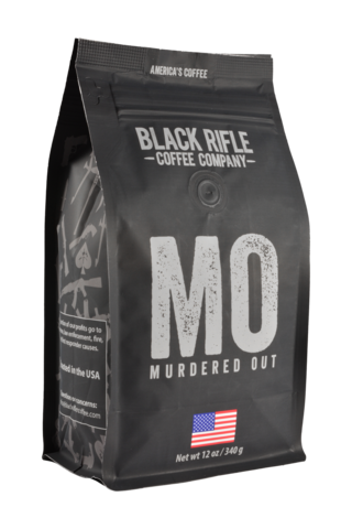 BRCC Murdered Out Whole Bean 12oz