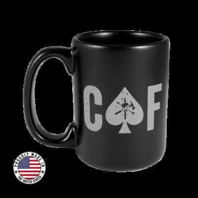 BRCC CAF Black Mug