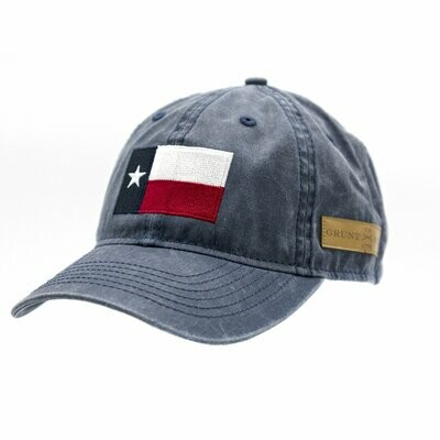 GS Texas Flag Blue Wash Hat
